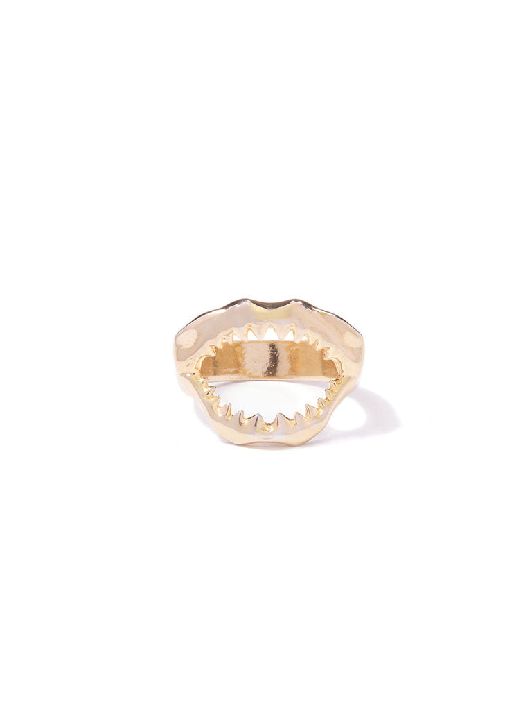 MINI SHARKY RING GOLD