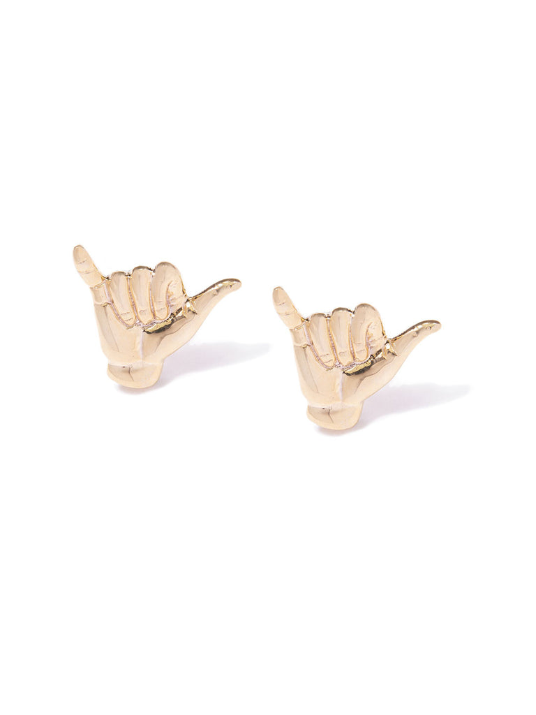 SHAKA CUFF LINKS GOLD
