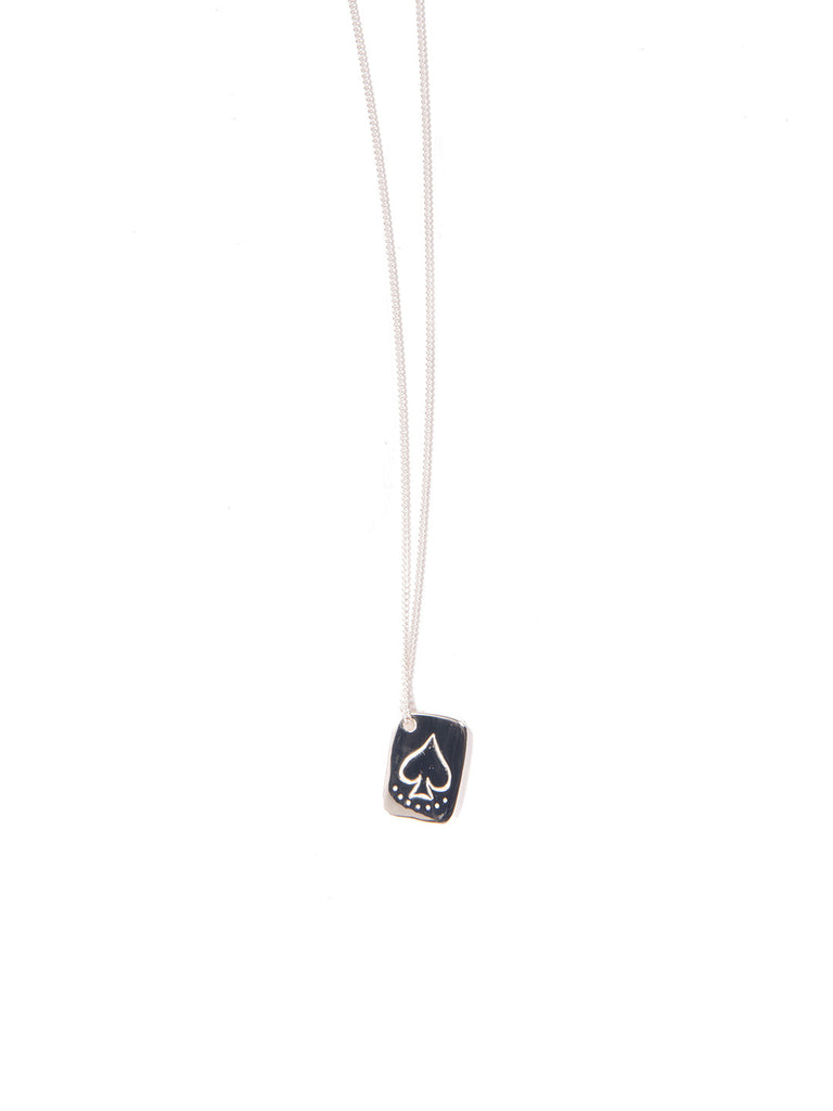 DIAMOND LIFE NECKLACE SILVER