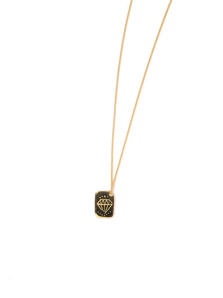 DIAMOND LIFE NECKLACE GOLD - Venessa Arizaga