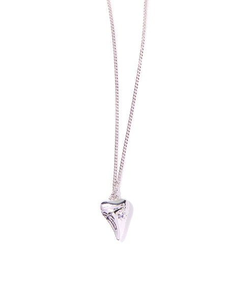BIG TROUBLE IN PARADISE NECKLACE (SILVER)