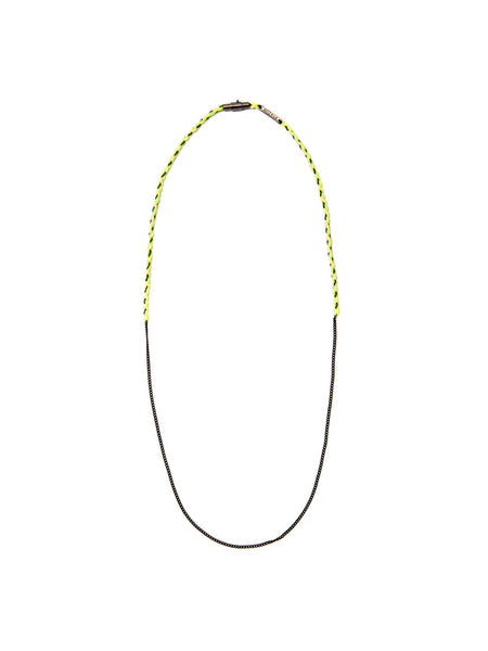 HAPA NECKLACE NEON YELLOW