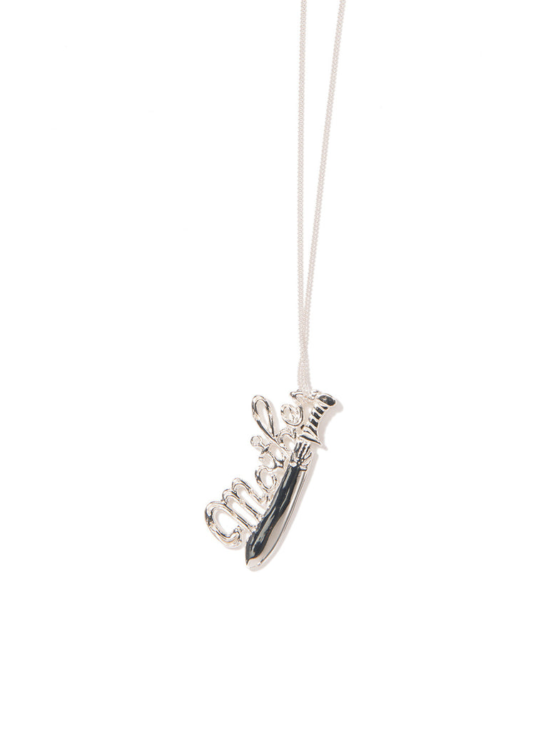 MAMA NECKLACE SILVER NECKLACE - Venessa Arizaga