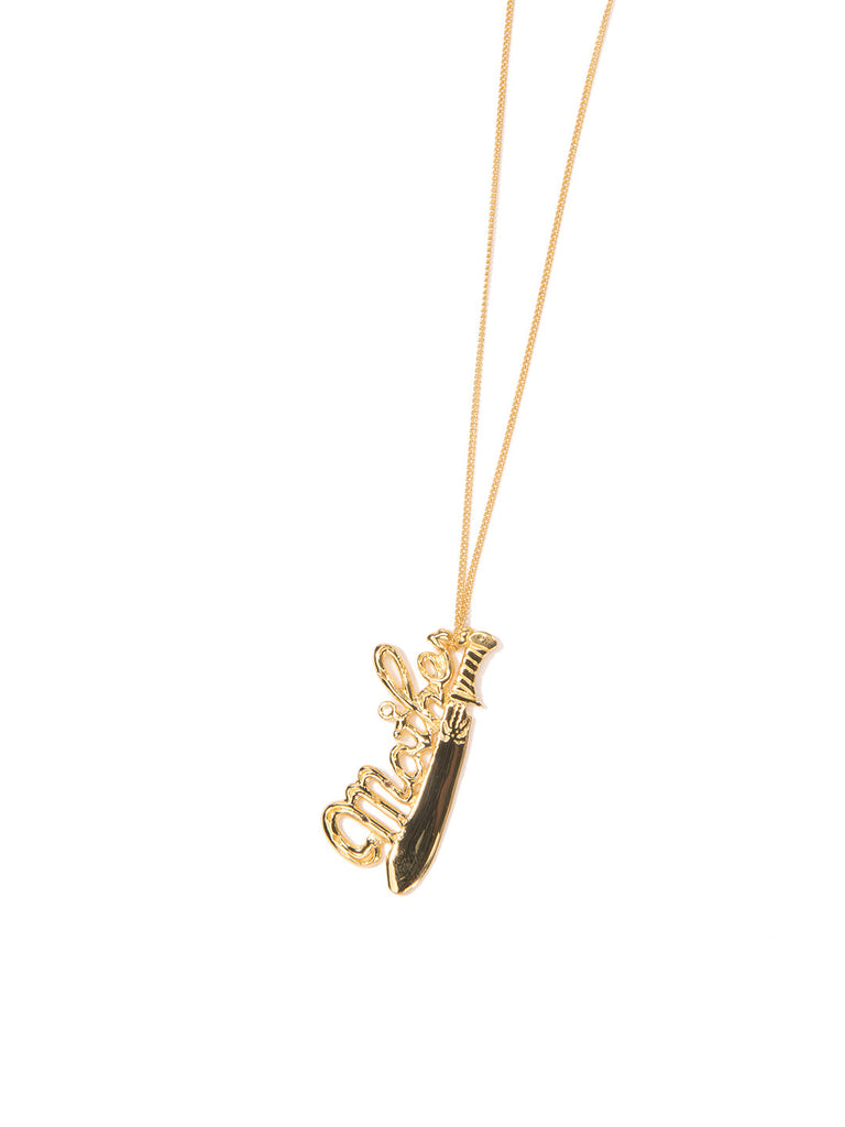 MAMA NECKLACE GOLD NECKLACE - Venessa Arizaga