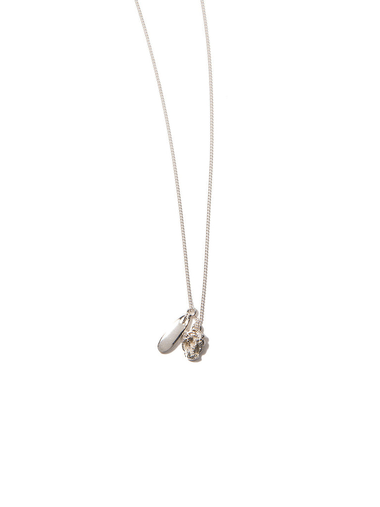 WILDERNESS NECKLACE SILVER - Venessa Arizaga