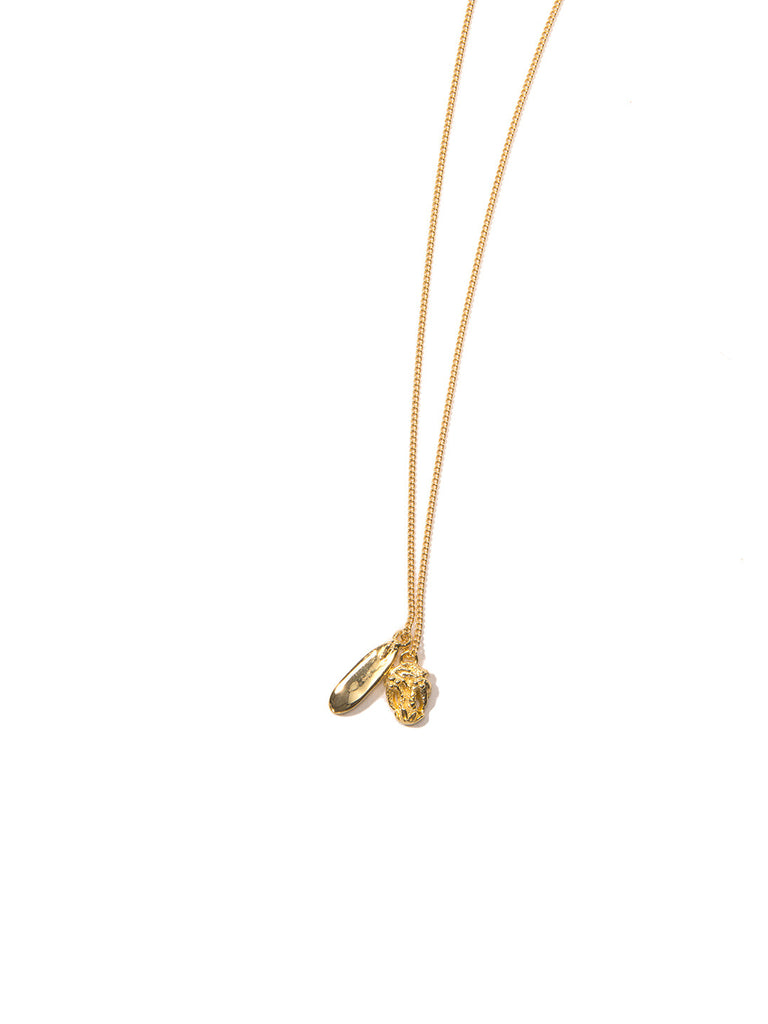 WILDERNESS NECKLACE GOLD - Venessa Arizaga