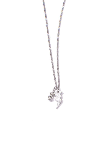 MONEY & POWER NECKLACE SILVER