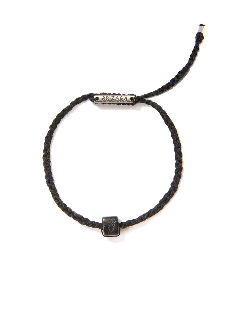 FLASH BRACELET MATTE BLACK BRACELET - Venessa Arizaga