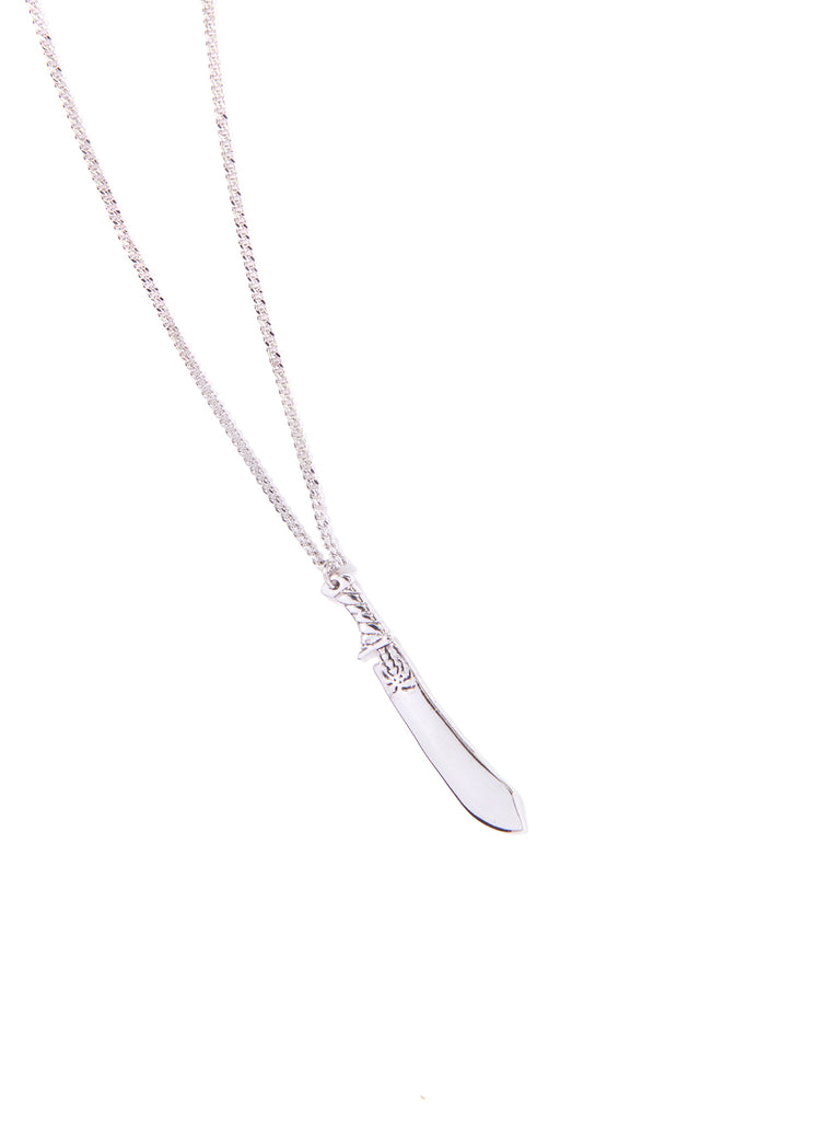 MACHETE NECKLACE (SILVER)