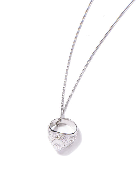 ARIZAGA RING NECKLACE SILVER