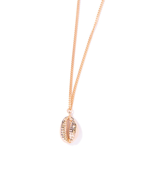 COWRIE NECKLACE (GOLD)