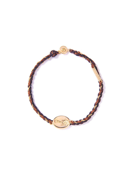 LAS PALMAS BRACELET BLACK & BROWN