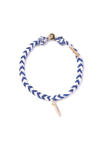 LOG JAMMIN' BRACELET BLUE & WHITE