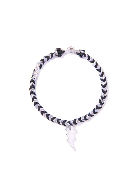 LIGHTNING BRACELET BLACK & GRAY