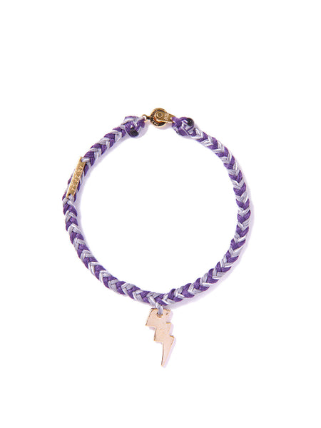 LIGHTNING BRACELET GRAY & PURPLE
