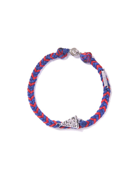 PIZZA BRACELET RED & BLUE