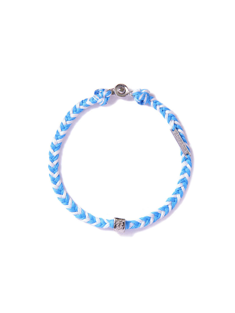 FLASH BRACELET LIGHT BLUE & WHITE
