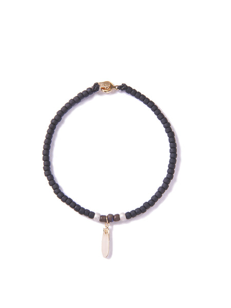 LOG JAMMIN' BRACELET BLACK & GOLD