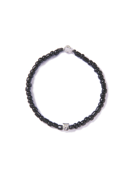 FLASH BRACELET BLACK & SILVER