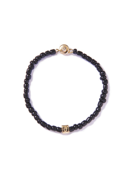 FLASH BRACELET BLACK & GOLD