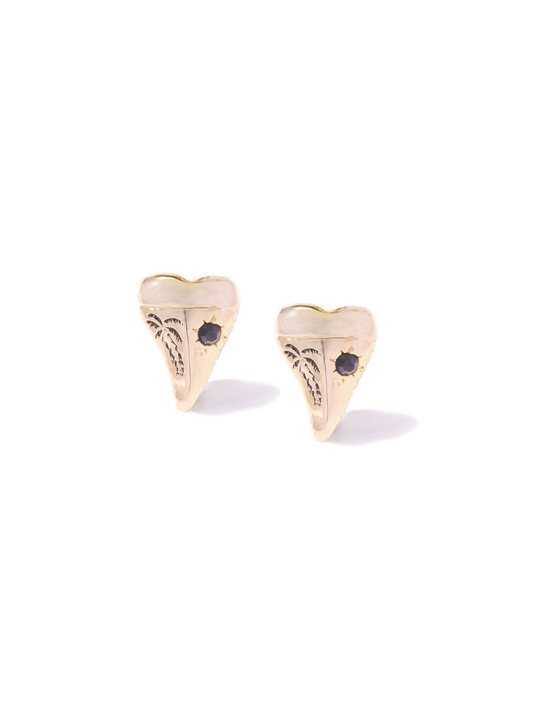 BIG TROUBLE IN PARADISE CUFF LINKS GOLD