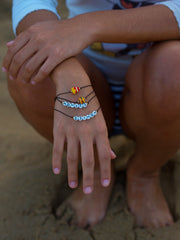BURGER AND FRIES BRACELET SET - Venessa Arizaga