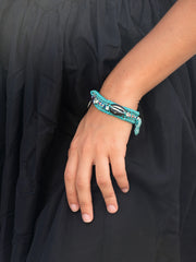 SEA TO SHORE BRACELET (OCEAN BLUE)