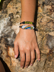 RAINBOW SMILEY BRACELET BRACELET - Venessa Arizaga