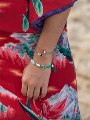 ROLLIN' WITH MY GNOMIES BRACELET SET BRACELET - Venessa Arizaga