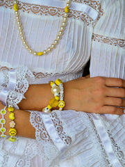 BIG SMILE BRACELET (WHITE)