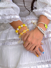 GALACSEA BRACELET (WHITE AND YELLOW)