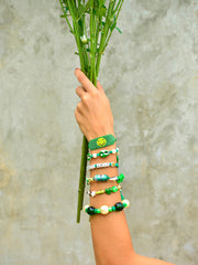 HAPPY TRAILS BRACELET (GREEN)