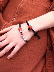 LOVE YOU BERRY MUCH BRACELET (BLACK)