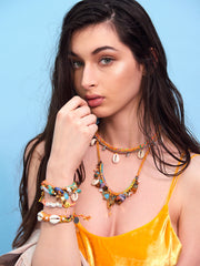 FANTASEA NECKLACE (SUNSHINE RAINBOW) NECKLACE - Venessa Arizaga