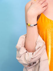 HAPPY AS F%CK BRACELET BRACELET - Venessa Arizaga