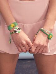 GET HAPPY BRACELET (GREEN)