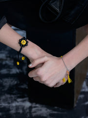 2 COOL FOR SCHOOL BRACELET (BLACK) BRACELET - Venessa Arizaga