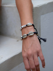 FANTASEA BRACELET (BLACK DOTS)