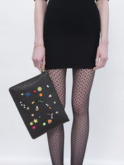 RAINBOW SPARKLE CLUTCH - Venessa Arizaga