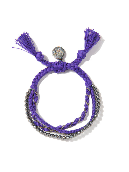 RAINBOW BABE BRACELET (PURPLE)