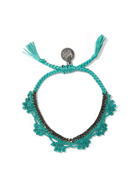 SHADES OF COOL BRACELET (TEAL)