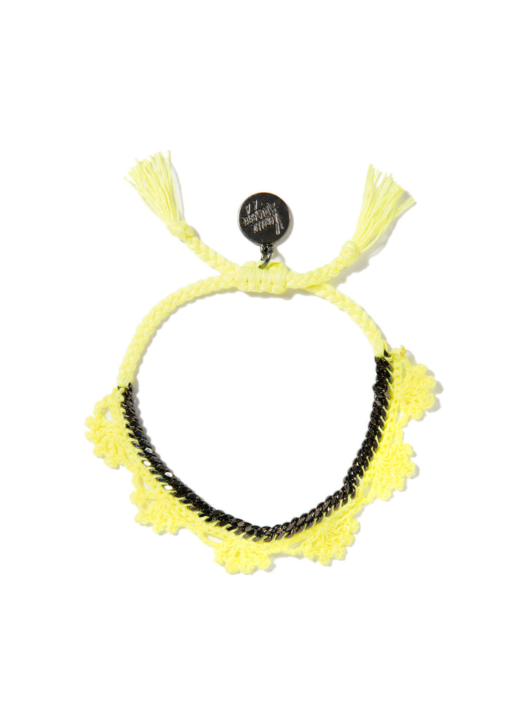 SHADES OF COOL BRACELET (NEON YELLOW) BRACELET - Venessa Arizaga