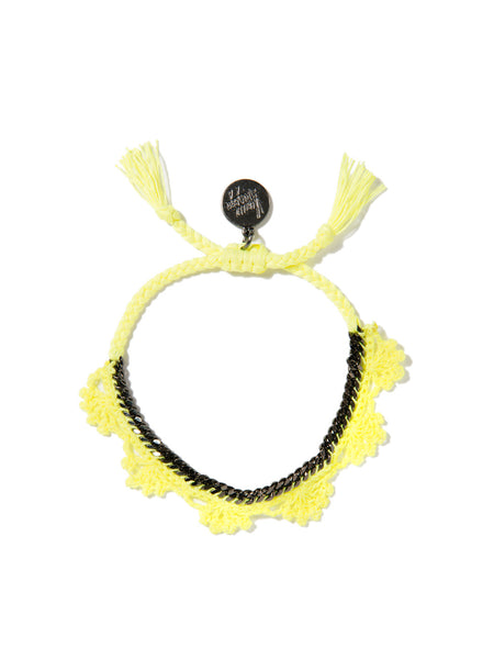 SHADES OF COOL BRACELET (NEON YELLOW)