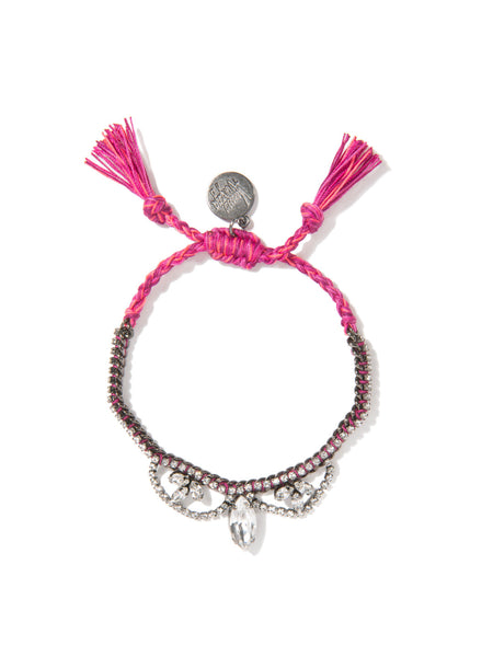 JUST LIKE HEAVEN BRACELET (MAGENTA)