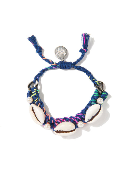 SHELL WE DANCE? BRACELET (BLUE RAINBOW)
