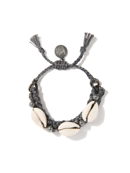 SHELL WE DANCE? BRACELET (GRAY)