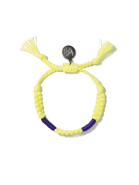 TROPICAL TEASE BRACELET (NEON YELLOW)