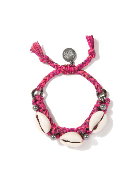 SHELL WE DANCE? BRACELET (MAGENTA)