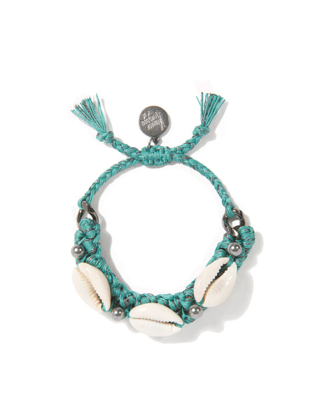 SHELL WE DANCE? BRACELET (TEAL)