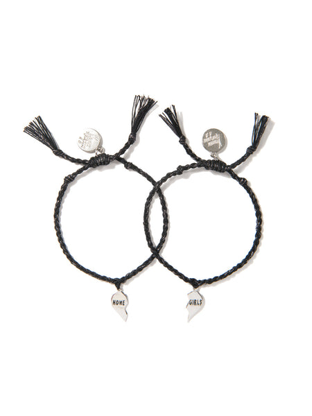 HOME GIRLS BRACELET SET (BLACK)